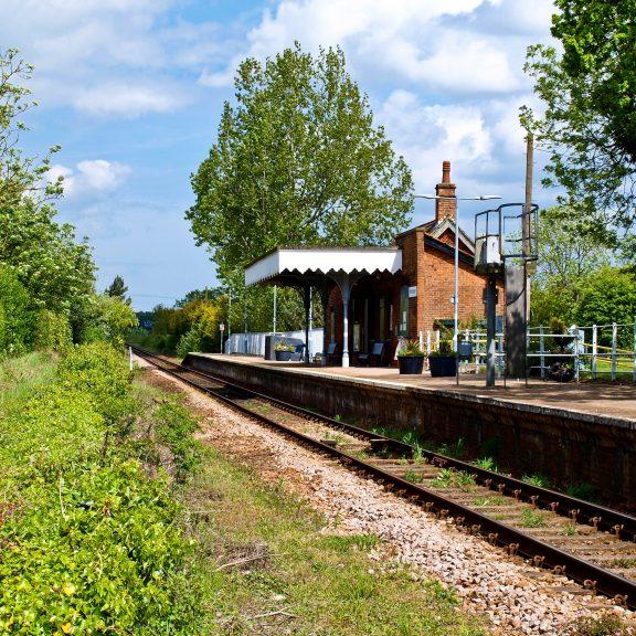 Gunton North Walsham Main Railway Station Photo Worstead 11 Wroxham Line.